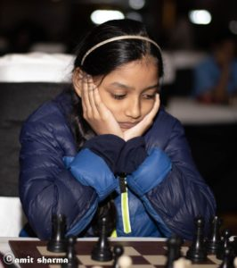 Alana Won U-10 Girls and 2nd in U-12 in National selection 2021 by AP State Chess Champ