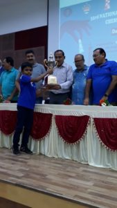 Congratulations to Arjun for coming second in National under 9 championship!