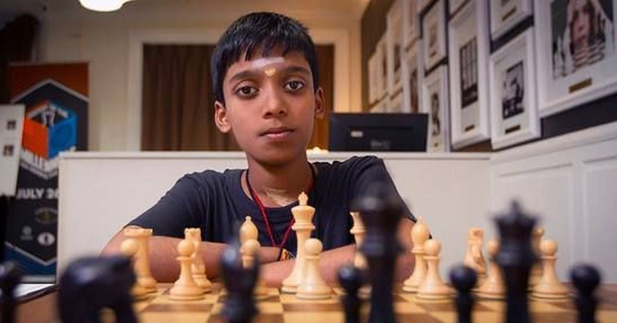 Praggnanandhaa in second position at World youth under 18 open section!