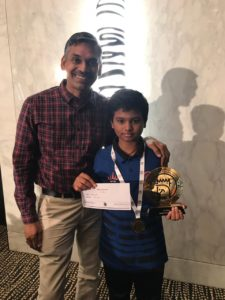 Congratulations to Pranesh M for winning AbuDhabi juniors championship!