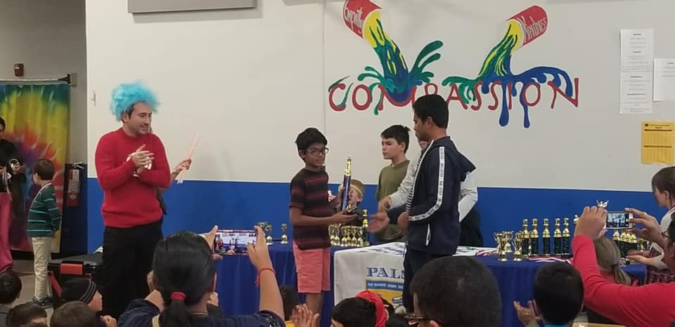 Sarvesh wins 3-5 and second in 4-6 section in Pals Halloween Chesstravaganza – 2019. Denver Colorado.