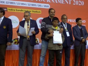 Congratulations to 13 year old Pranesh for his maiden GM norm at Delhi open!