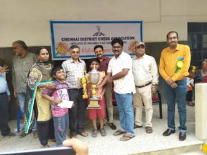 Daakshin wins under 11 Chennai District Championship