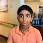 Srikar won the 1st Chess Gurukul Monthly tournament for US students
