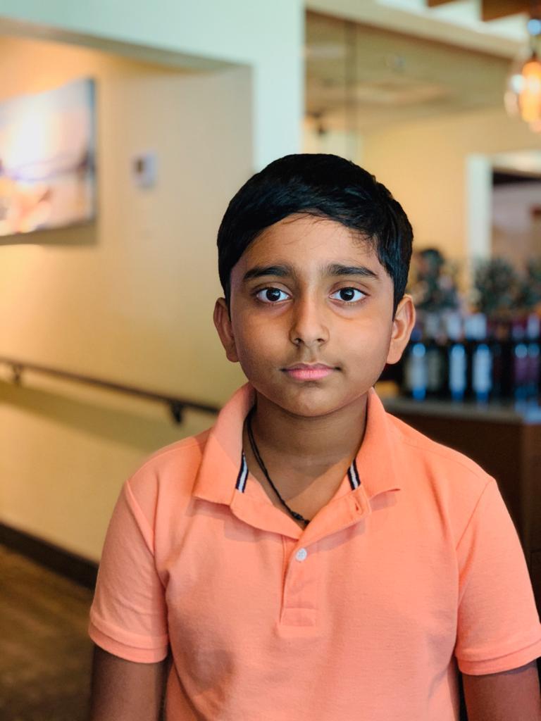Srikar won the 1st Chess Gurukul Monthly tournament for US students
