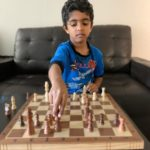 Advaith won the 1st Chess Gurukul Global U500 tournament for US students