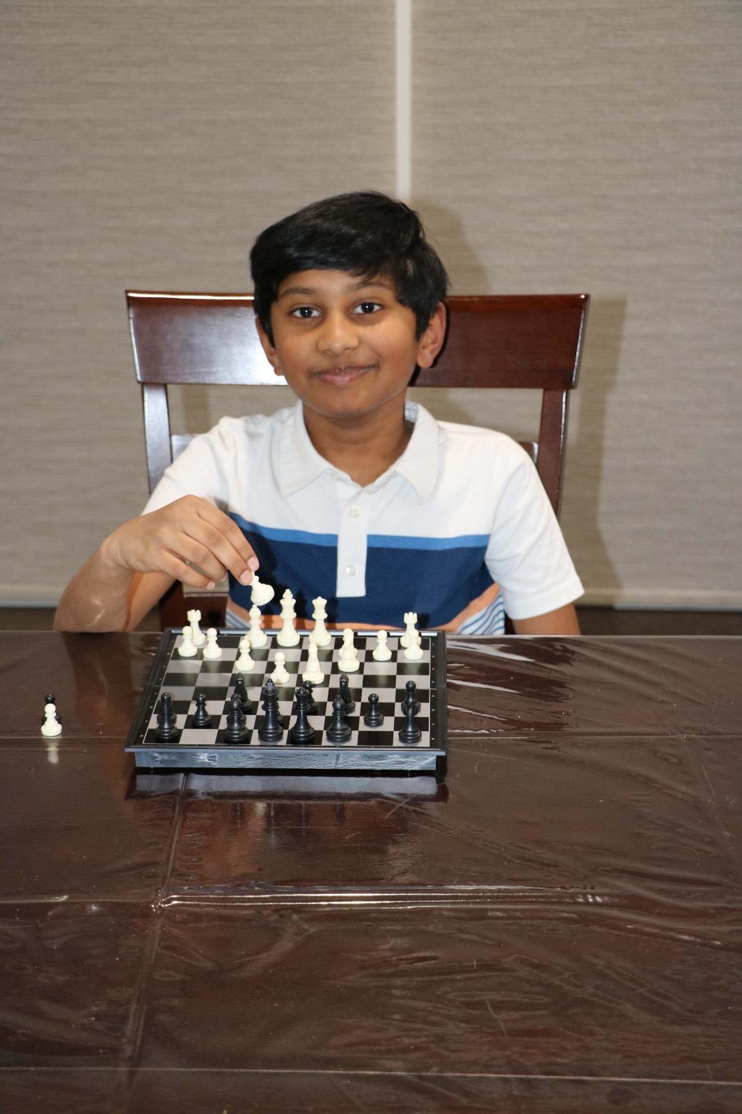 Dhruv wins the 5th Chess Gurukul Global U500 for US Students