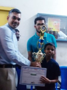 Pranav won the 6th CG Advanced for Indian students