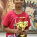 Prem won the 9th Chess Gurukul Advanced for Indian Students