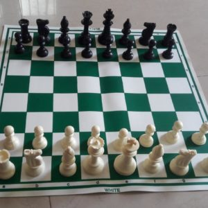 Chessboard and Coinset