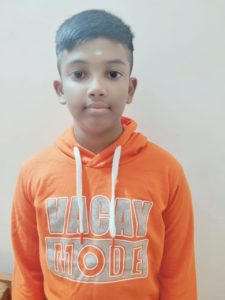 Akshay won the 3rd Chess Gurukul Intermediate tournament