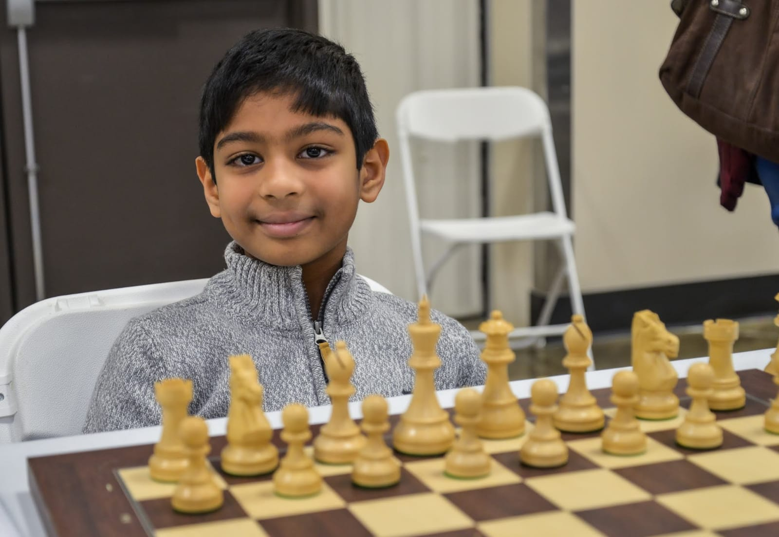 Darshan Clinched the 8th Chess Gurukul Global Inter for US Students