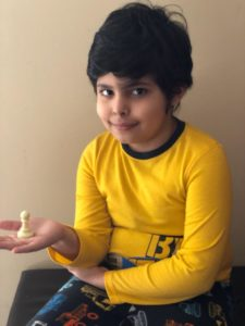 Arnav clinched the 5th Chess Gurukul Global Inter for US students