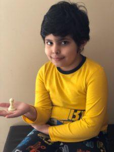 Arnav won the 8th Chess Gurukul Global Advanced for US Students