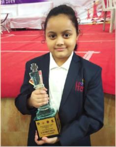 Arshiya Das wins the Bal Puraskar 2021