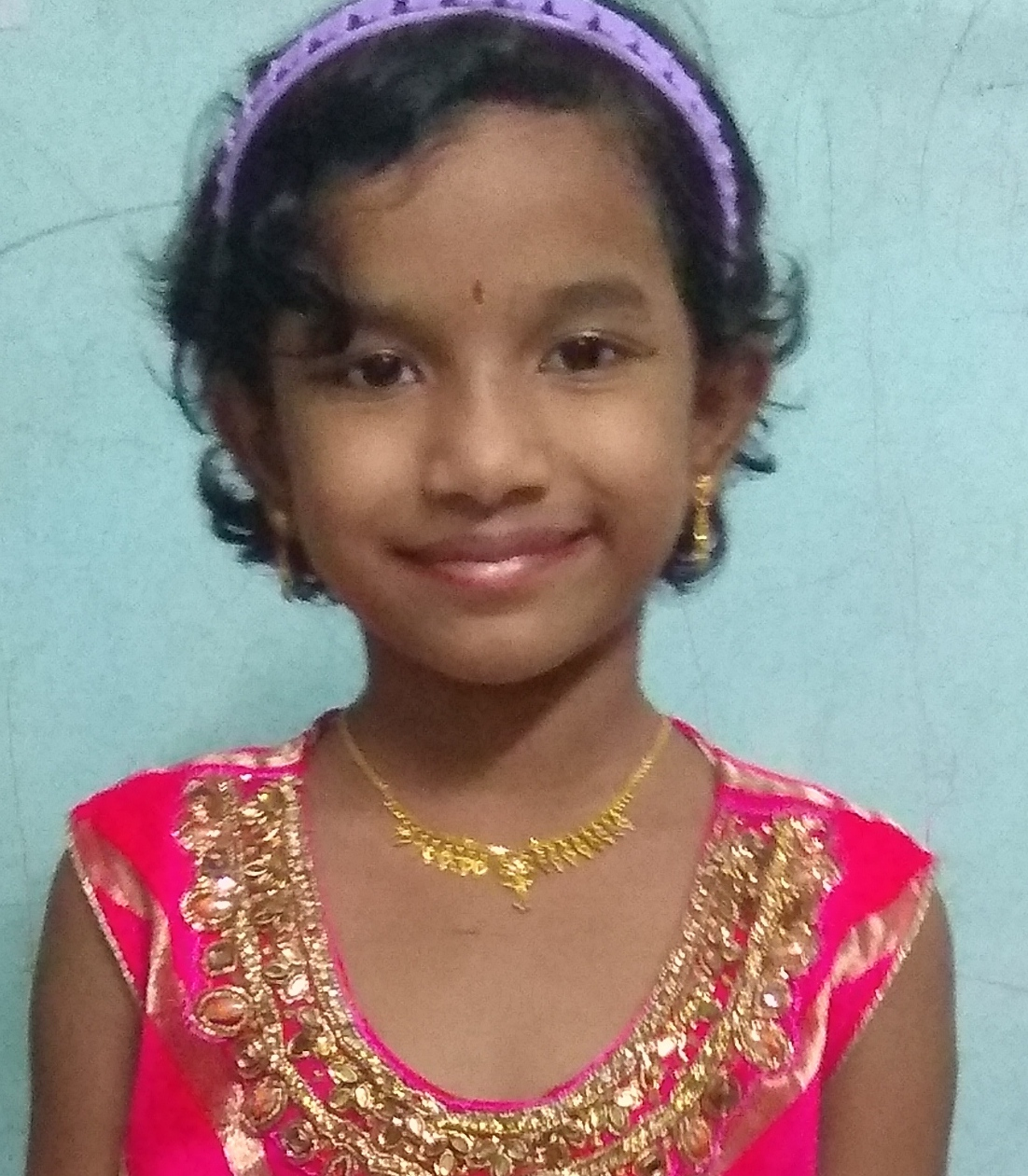 Nivedha won the 2nd CG U500 for Indian students