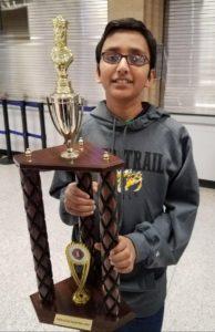 Ramapriya Srinivas won the 3rd CG RBR Online Group Tmt for US students
