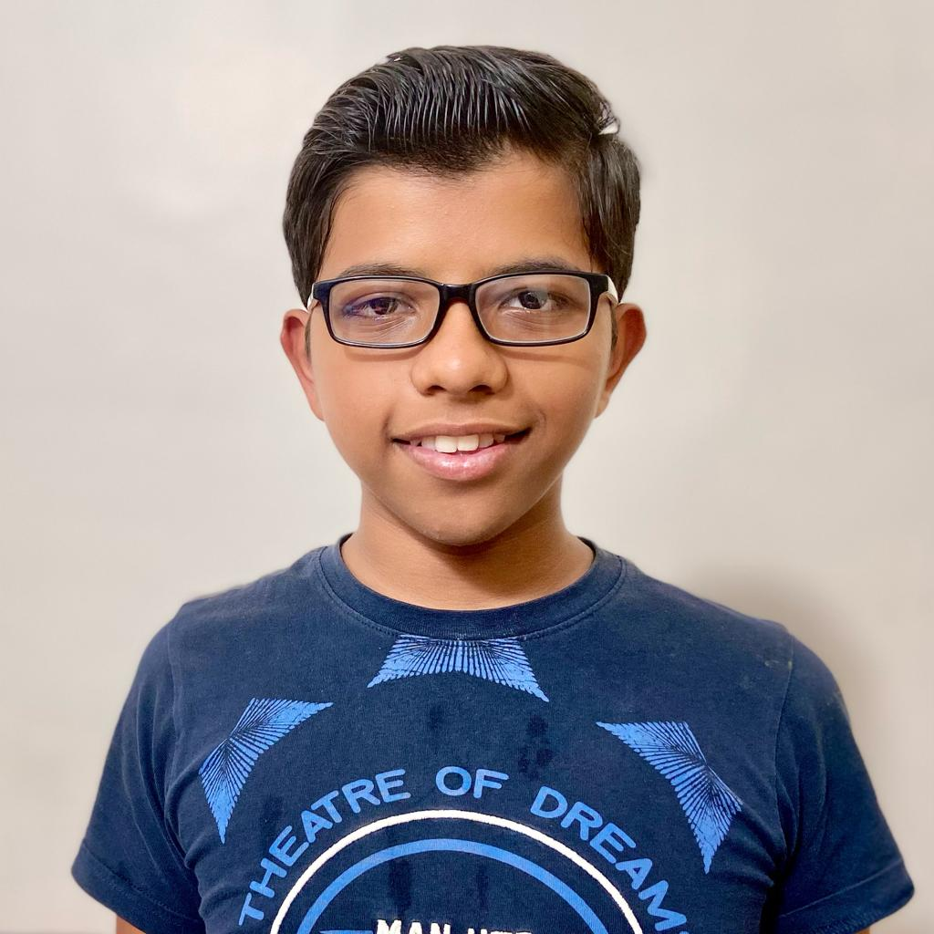 Siddhant won the 2nd CG Advanced for Indian students