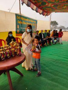 Abhigyan won 2nd in U-6 Boys Jamshedpur