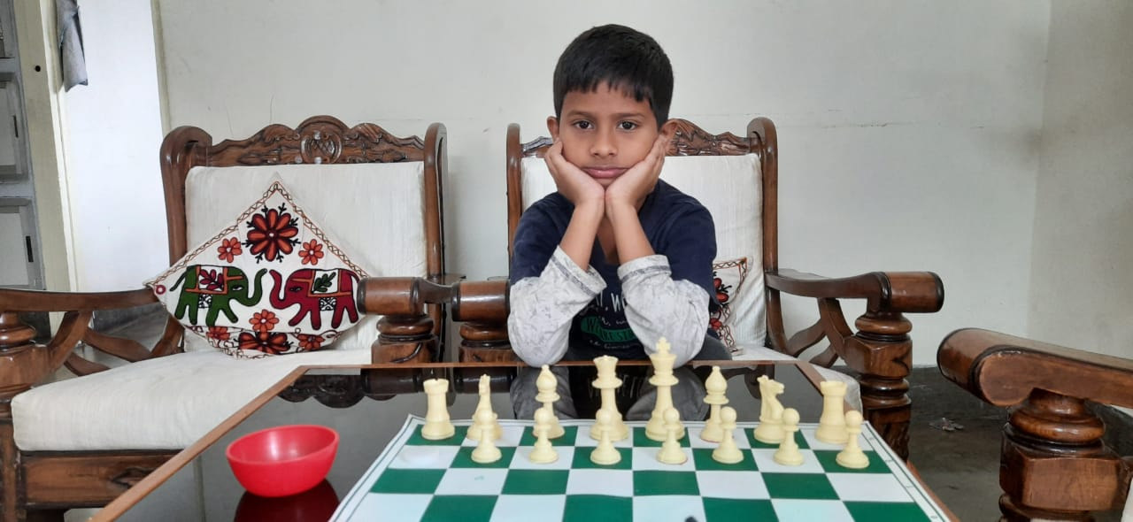 Abhinav Clinched the 9th Chess Gurukul Global Inter for US Students
