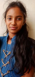 Shuruthi won the 5th CG Inter for Indian students
