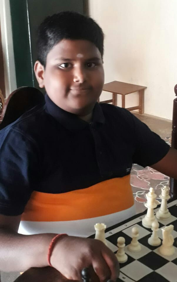 Moulish Clinched the 10th Chess Gurukul Global Inter for US Students